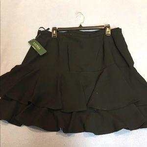 Vintage Lauren Ralph Lauren Skirt Ruffle NWT